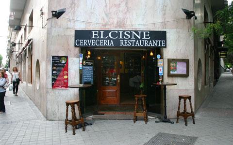 Entrada Restaurante El Cisne