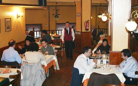 Salón principal Restaurante El Cisne