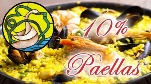 Paellas en el Restaurante El Cisne